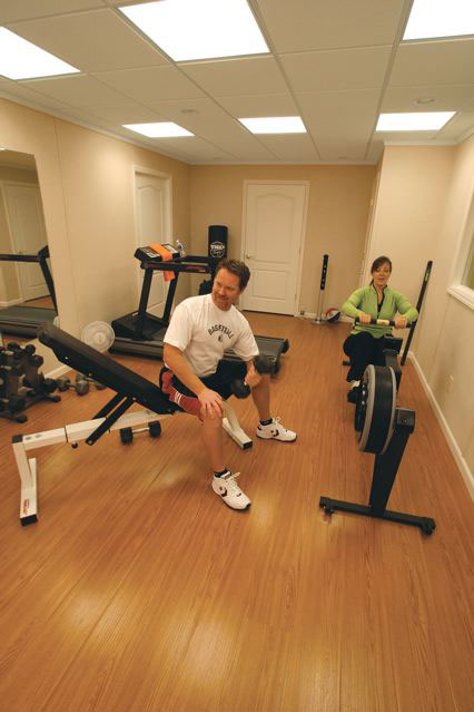Finished Basement Wood Flooring In NJ And PA Best Flooring For A